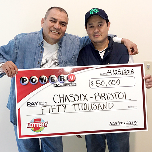 Chassix Bristol Employees Hoosier Lottery Winners