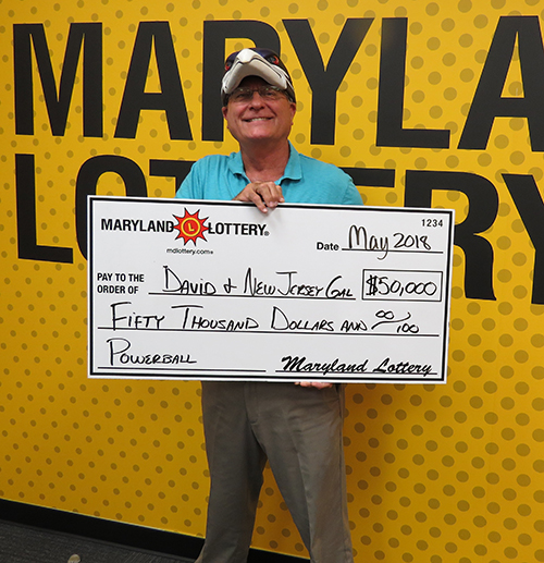MD Powerball Winner David & NJ Gal