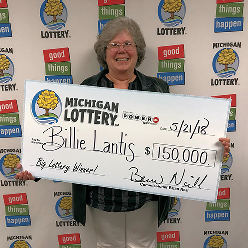Michigan Lottery Winner Billie Lantis