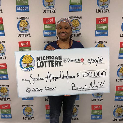 Michigan Lottery Winner Sandra Allison-Chatman