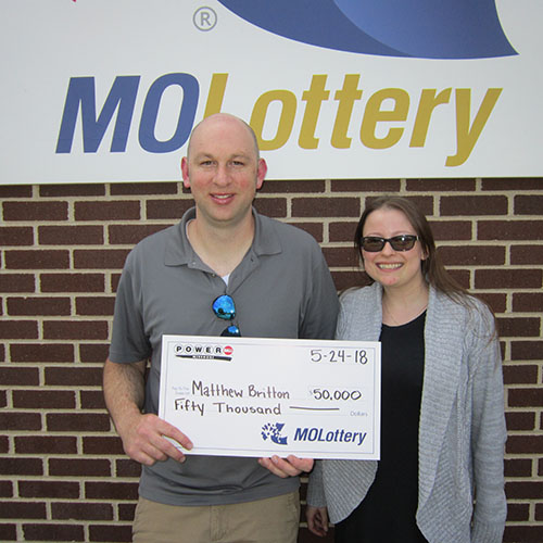 Missouri Lottery Winner Matthew Britton
