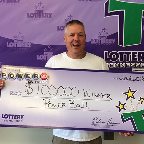 TN Lottery Winner Mark Davis