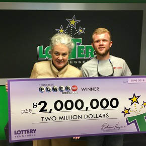 Tennessee Lottery Winner Matthew Reed