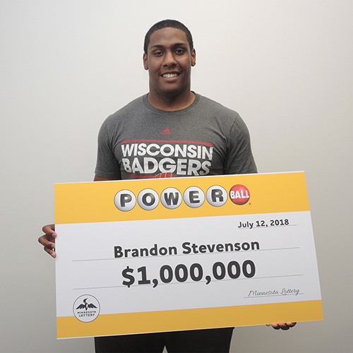 MN Lottery Winner Brandon Stevenson