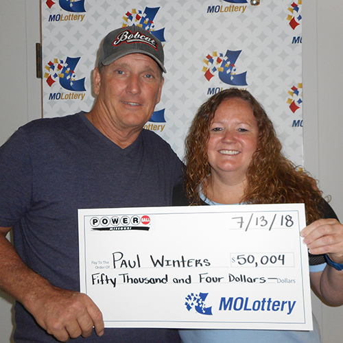 Missouri Lottery Winners Paul and Briann Winters