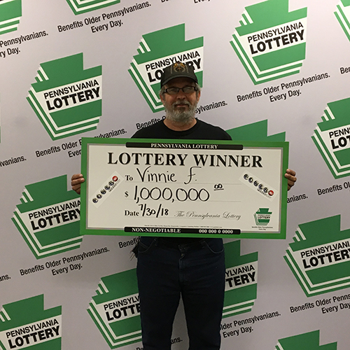 PA Lottery Winner Vincent F.