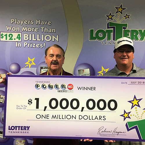 TN Lottery Winner Jack Canfield and son Todd