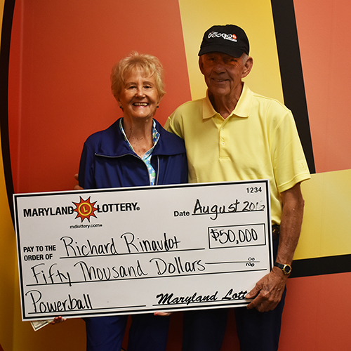 MD Powerball Winner Richard Rinaudot