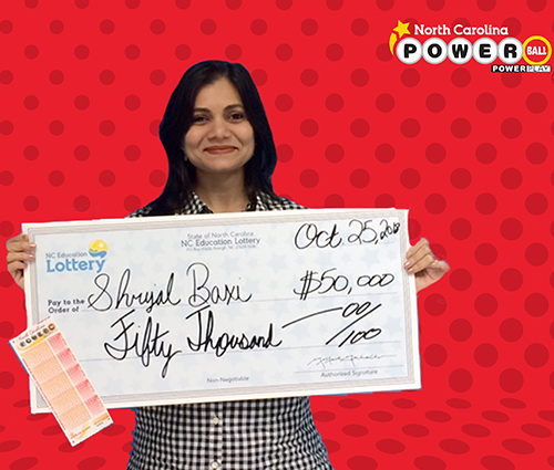 North Carolina Education Lottery Winner Shrijal Baxi