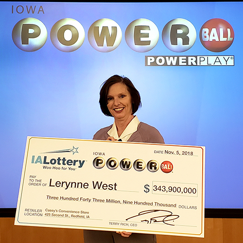 Iowa Lottery Powerball Jackpot Winner Lerynne West