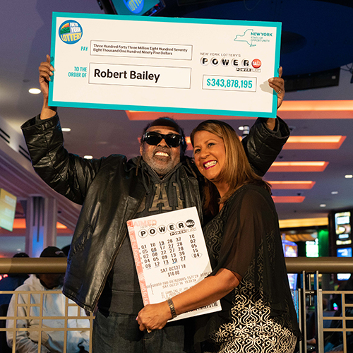 New York Lottery Winner Robert Bailey