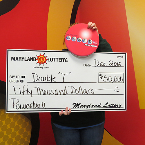Maryland Lottery Powerball Winner 'Double T'